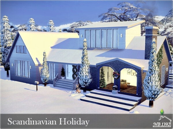 Scandinavian Holiday House by nobody1392 from TSR