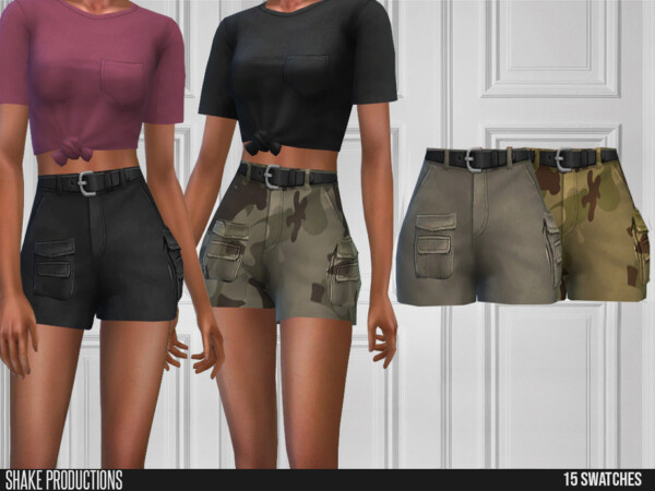 590 Cargo Shorts by ShakeProductions from TSR