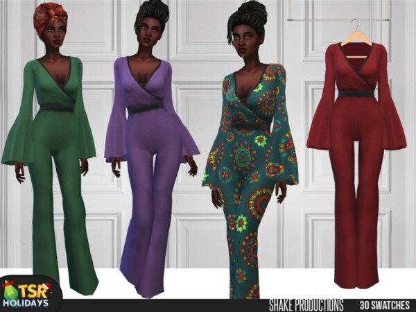 Kwanzaa Jumpsuit by ShakeProductions from TSR