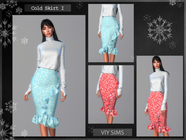 Skirt Cold I VI by Viy Sims from TSR