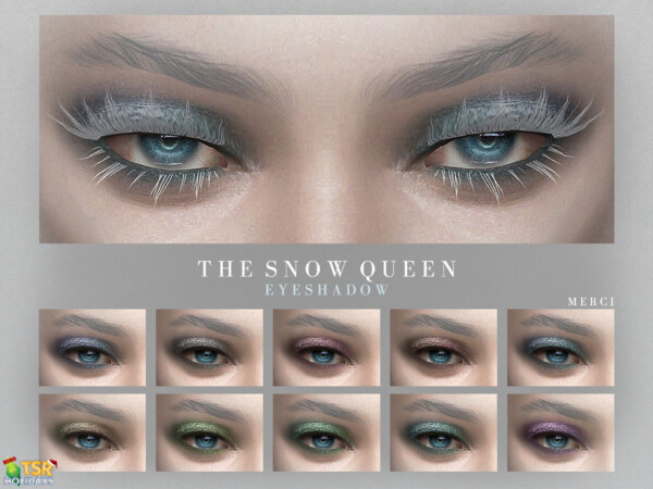 Snow Queen Eyeshadow by Merci from TSR