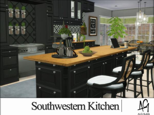 Southwestern Kitchen by ALGbuilds from TSR