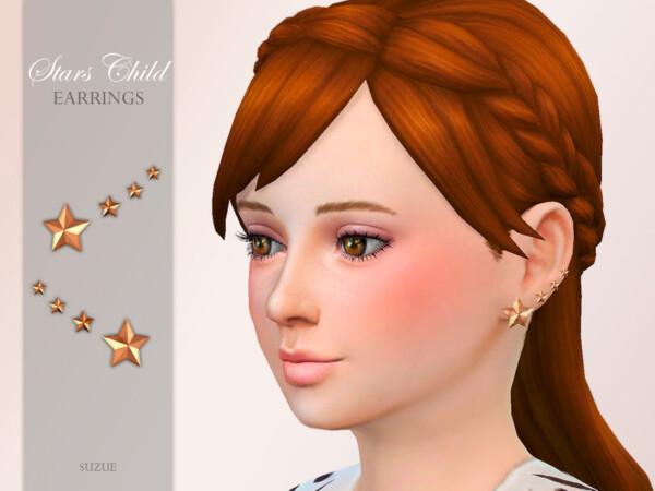 Stars Child Earrings by Suzue from TSR