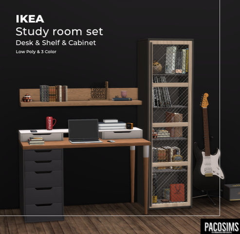 Study Room Set from Paco Sims
