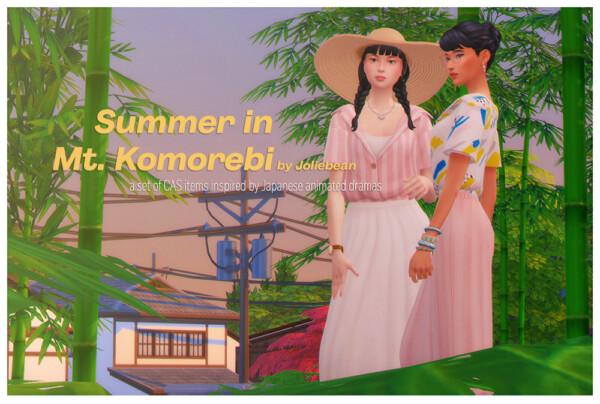 Summer in Mt. Komorebi set from Joliebean