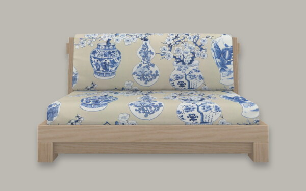 Taisho Loveseat from Simplistic