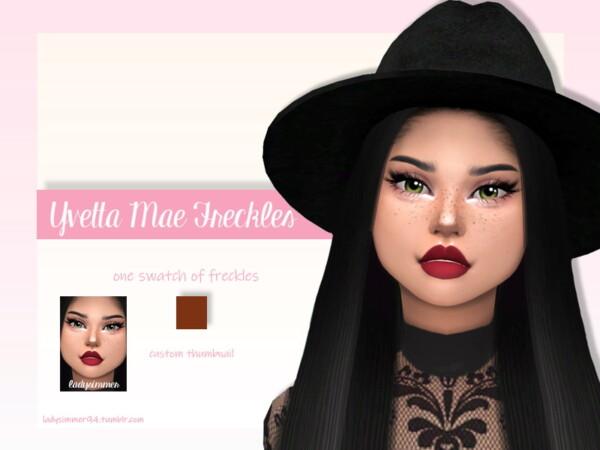 Yvetta Mae Freckles by LadySimmer94 from TSR