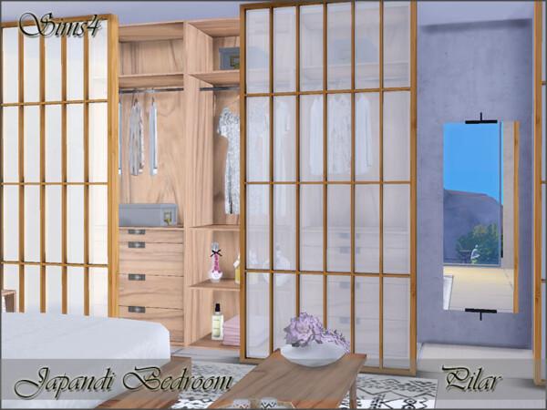Japandi Bedroom by Pilar from TSR