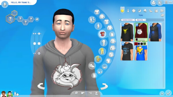 Moth to Light Hoodie by IsaiahTSE from Mod The Sims