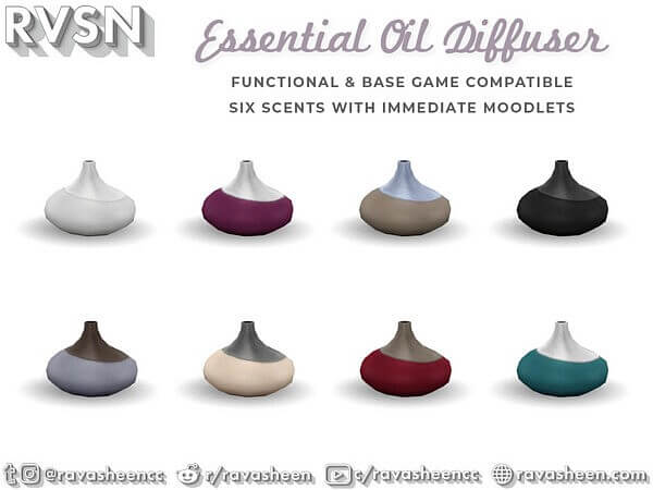 Scent To Be Oil Diffuser by RAVASHEEN from TSR