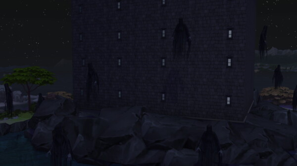 Azkaban prison Harry Potter builds by iSandor from Mod The Sims