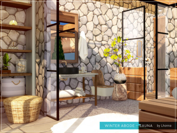 Winter Abode Sauna by Lhonna from TSR