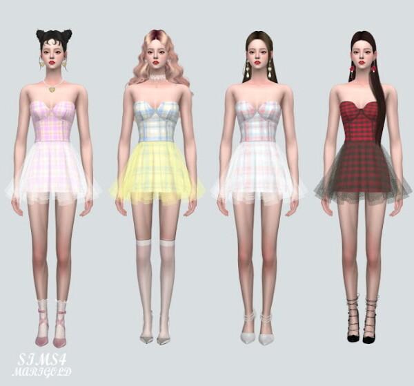 G Ballet Mini Skirt V2 from SIMS4 Marigold