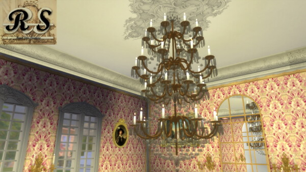 Royal Crystal Chandelier Set from Regal Sims
