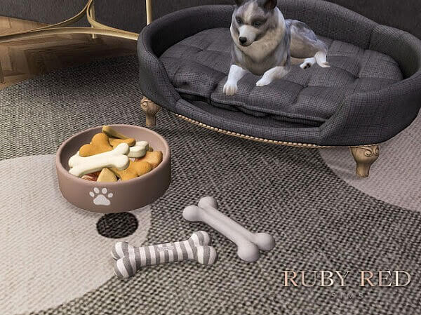 Lord Lou Antoinette Pet Bed Set from Ruby`s Home Design