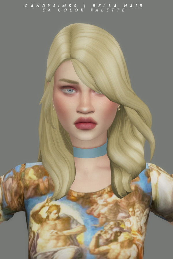 Bella Hair from Candy Sims 4
