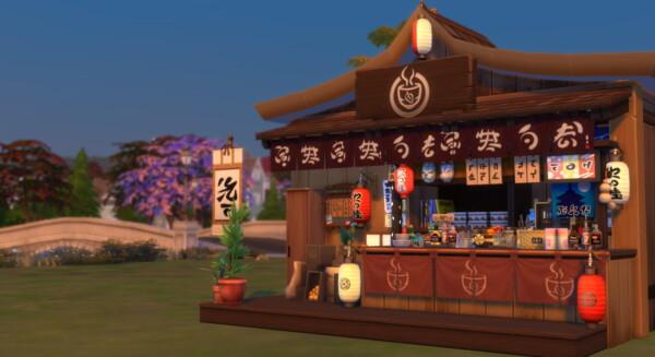 Japanese Yatai by  mohana design from Luniversims