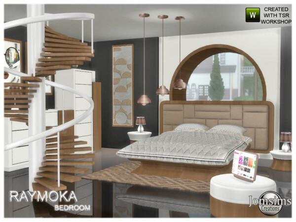 Raymoka bedroom by jomsims from TSR