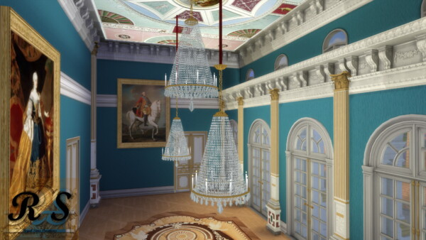Fontainebleau Chandelier from Regal Sims