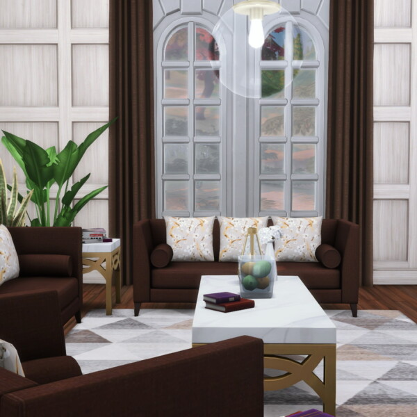 Baker Seating A Cosmoluxe Sofa Set from Simsational designs