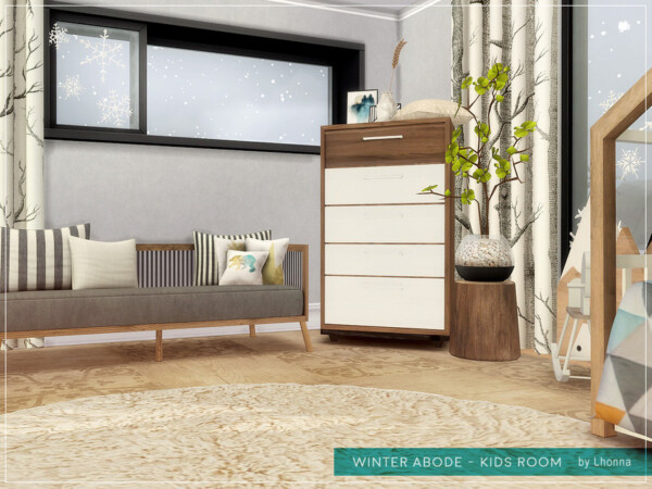 Winter Abode Kids Room by Lhonna from TSR