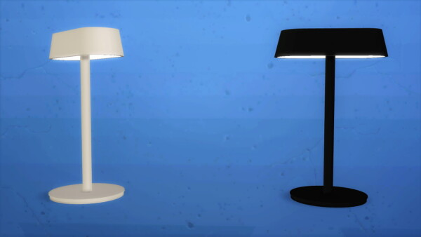 Linear table lamp from Meinkatz Creations