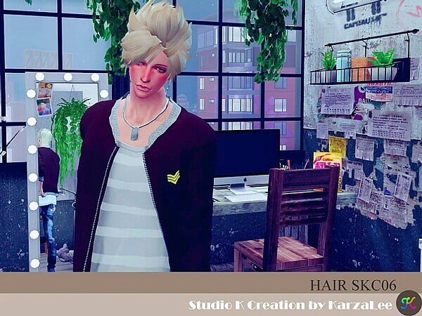 Hair SKC06 from Studio K Creation