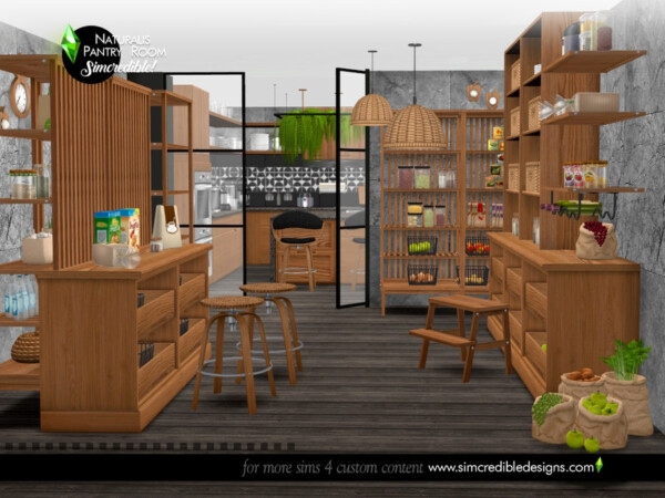 Naturalis Pantry Room by SIMcredible! from TSR