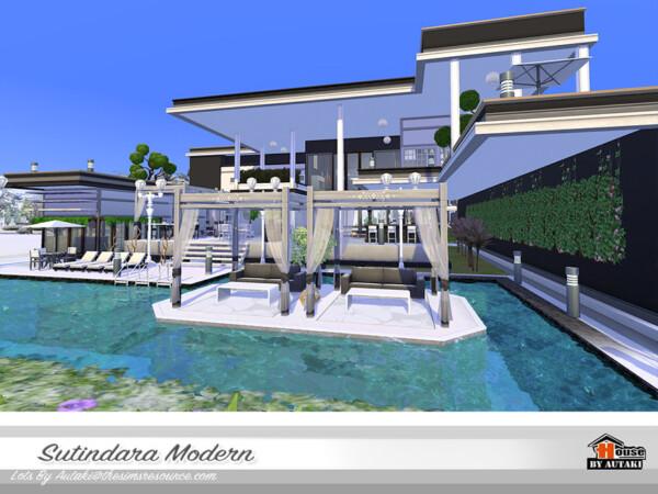 Sutindara Modern House NoCC by autaki from TSR