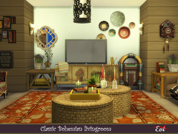 Classic Bohemian Livingroom by evi from TSR