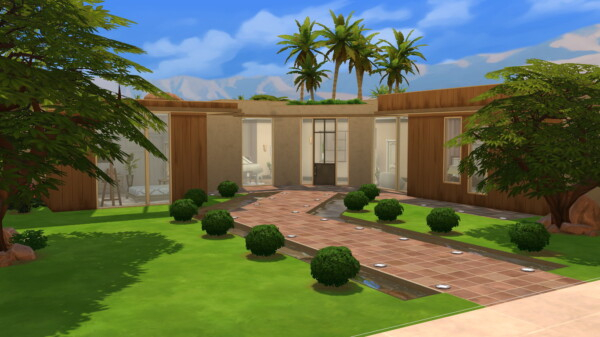 Desert paradise villa by iSandor from Mod The Sims