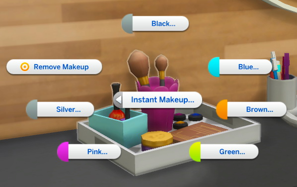 Instant Makeup Mod by Caradriel from Mod The Sims