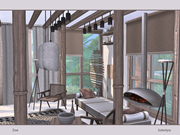 Zoe Livingroom by soloriya from TSR
