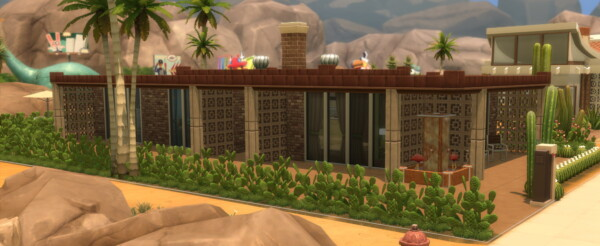 The Fleetwood  Mid Century Modern House by DominoPunkyHeart from Mod The Sims