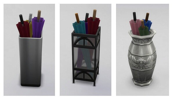 Umbrella Stand Collection by Menaceman44 from Mod The Sims