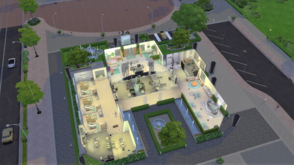 Willow Creek Hospital by  AngieSims from Luniversims