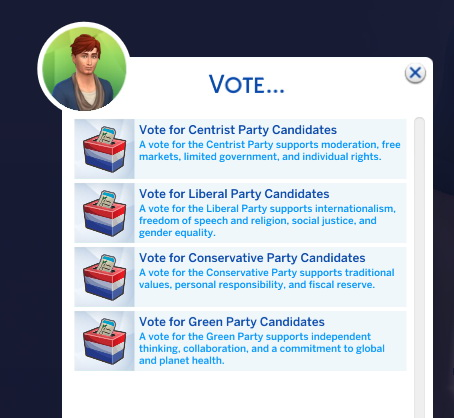 Voting Holiday Tradition  by adeepindigo from Mod The Sims
