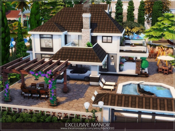 Exclusive Manor by MychQQQ from TSR
