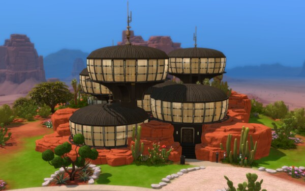 The U.F.O. House by  alexiasi from TSR