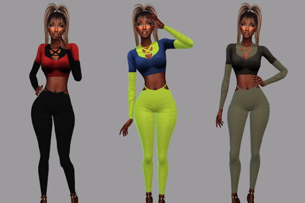 ACC Crop Over for We Go Wild Outfit from Teenageeaglerunner