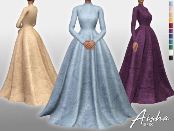 Aisha Dress by Sifix from TSR