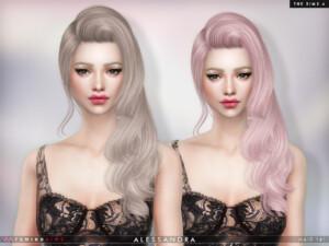 Alessandra Hairstyle