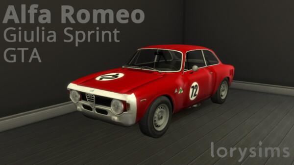 Alfa Romeo Giulia Sprint from Lory Sims
