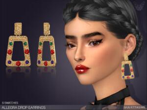 Allegra Drop Earrings