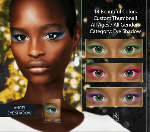 Angel Eyeshadow from Revolution Sims