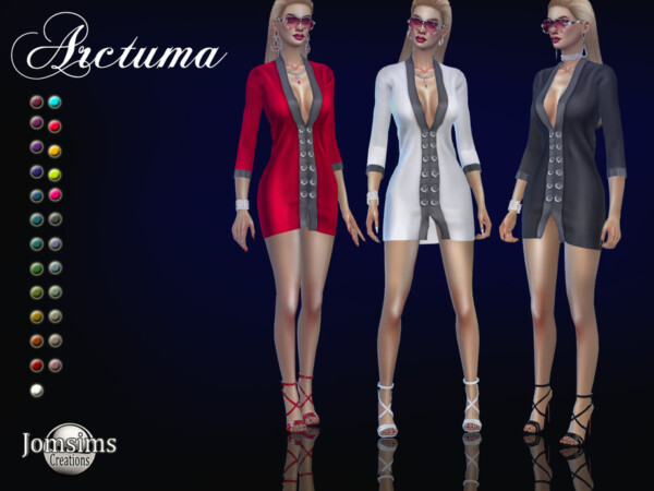 Arctuma dress by jomsims from TSR