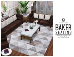 Baker Seating A Cosmoluxe Sofa Set
