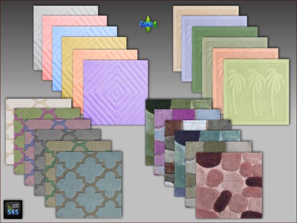 Bathroom rugs from Arte Della Vita