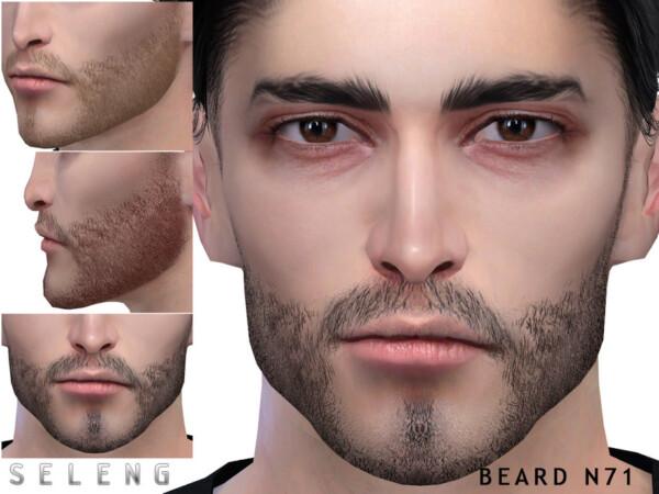 Beard N71 by Seleng from TSR