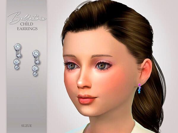Bellatrix Child Earrings